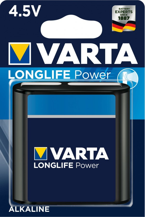 Элемент питания Varta 4912.121.411 High Energy 3LR12 BL1