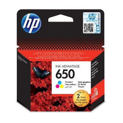 Картридж струйный HP 650 CZ102AE цв. для DJ Ink Advantage 2515/3515