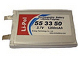 Аккумулятор LP553350-PCM Energy Technology 1200mAh 3.7V Li-Pol